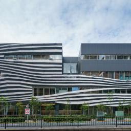 The facade of Ochanomizu University, Hisao & Hiroko Taki Plaza (お茶の水女子大学 国際交流留学生プラザ)
