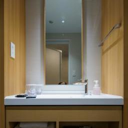 Wash basin in Richmond Hotels Premier Kyoto Ekimae (リッチモンドホテル プレミア京都駅前)