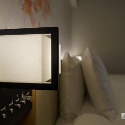 A lamp in Richmond Hotels Premier Kyoto Ekimae (リッチモンドホテル プレミア京都駅前)