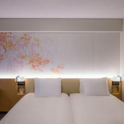 Twin room of Richmond Hotels Premier Kyoto Ekimae (リッチモンドホテル プレミア京都駅前)