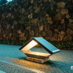 Lamp of Kochi Castle Museum of History (高知県立高知城歴史博物館)