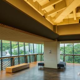 Indoor view of Kochi Castle Museum of History (高知県立高知城歴史博物館)