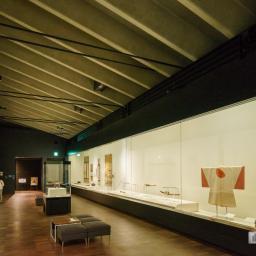 Exhibition space of Kochi Castle Museum of History (高知県立高知城歴史博物館)