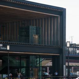 建築 姫路駅北口広場 Wao渡邉篤志建築設計事務所 建築グラビア
