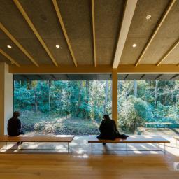 Indoor view of Meiji Jingu Museum (明治神宮ミュージアム)