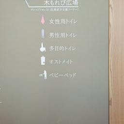 Sign of Moriyama City Library (守山市立図書館)