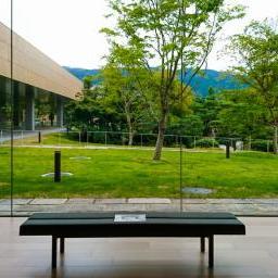 Indoor view of Kyoto City KYOCERA Museum of Art (京都市京セラ美術館)