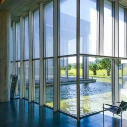 Indoor view of Fukui Prefectural Library (福井県立図書館)