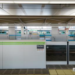 Platform of Takanawa Gateway Station (高輪ゲートウェイ駅)