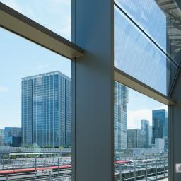Indoor view of Takanawa Gateway Station (高輪ゲートウェイ駅)