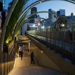 Exterior view of MIYASHITA PARK (宮下パーク)