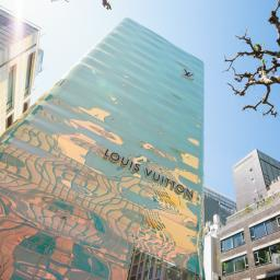 Exterior view of LOUIS VUITTON Ginza Namiki-dori Branch (ルイ・ヴィトン 銀座並木通り店)