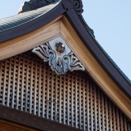 Onigawara of Yasukuni Shrine (靖国神社)