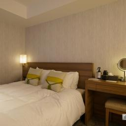 Double room of Mitsui Garden Hotel Kyoto Station (三井ガーデンホテル京都駅前)