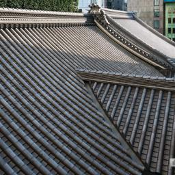Exterior view of Kabukiza Tower (歌舞伎座タワー)