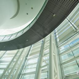 Indoor view of Fukui City Museum Of Art (福井市立美術館)