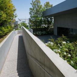 Exterior view of Yoshiro and Yoshio Taniguchi Museum of Architecture, Kanazawa (谷口吉郎・吉生記念 金沢建築館)