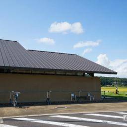 The facade of Michinoeki Mashiko (道の駅ましこ)