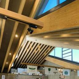 Indoor view of Michinoeki Mashiko (道の駅ましこ)