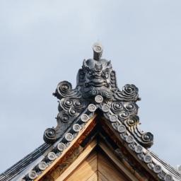 Onigawara of Houkongoin Temple (法金剛院)