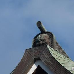 Onigawara of Naritasan Shinsho-ji Temple (成田山新勝寺)