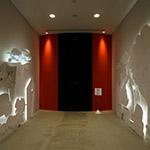 1st room in the exhibition space, Yanmar Museum (ヤンマーミュージアム)