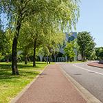 Full view of Tama Art University, library (多摩美術大学図書館)