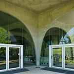 Entrance of Tama Art University, library (多摩美術大学図書館)