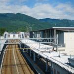 The facade of Tazawako Station (田沢湖駅)