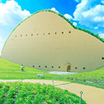 Mosaic Tile Museum, Tajimi as animation background (アニメみたいな多治見市モザイクタイルミュージアム)