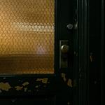 A door of Shibakawa Building (芝川ビルディング)