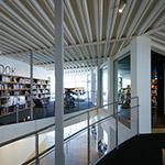 A space on 2nd floor, Art Museum & Library, Ota (太田市美術館・図書館)