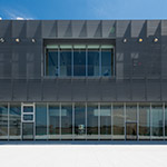 Back facade of Toyama Prefectural Museum of Art & Design (富山県美術館)
