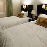 Bed room of Harmonie Embrassee Osaka (アルモニーアンブラッセ大阪).