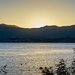 Biwa Lake from Setre Marina Biwako (セトレ マリーナびわ湖)