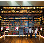 Book collection space of Toyo Bunko Museum (東洋文庫ミュージアム)