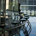 Chairs of Sendai Mediatheque (せんだいメディアテーク)