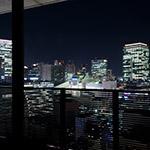 City view from balcony, Harmonie Embrassee Osaka (アルモニーアンブラッセ大阪).