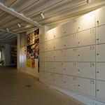Coin-operated locker of Art Museum & Library, Ota (太田市美術館・図書館)