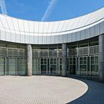 Courtyard of Hiroshima City Museum of Contemporary Art (広島市現代美術館)