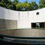 Courtyard of Hiroshima City Museum of Contemporary Art (広島市現代美術館)
