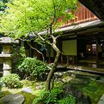 Courtyard of Sumiya (角屋)