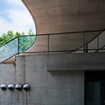 Detail of Aomori Contemporary Art Centre, Exhibition Hall (国際芸術センター青森)
