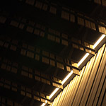 Detail of Daiwa Ubiquitous Computing Research Building (ダイワユビキタス学術研究館)