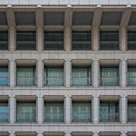 Detail of Osaka City Government Office (大阪市庁舎)