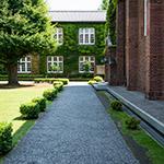 Details of Rikkyo University, Morris Hall (立教大学 モリス館)