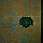 Door knob of Sumiya (角屋)