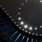 Downlights on ceiling, Conrad Osaka (コンラッド大阪)