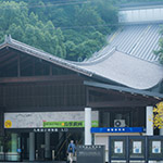 Entrance gate of Kyushu National Museum (九州国立博物館)