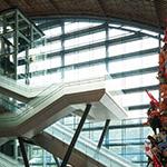 Escalator and stair of Kyushu National Museum (九州国立博物館)